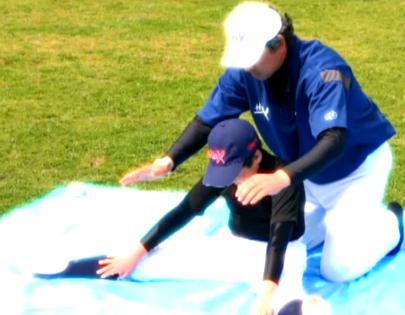 ピッチャーが柔軟性を高めるためのトレーニング