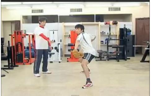 体幹をつくり股関節を使うピッチング練習法DVD