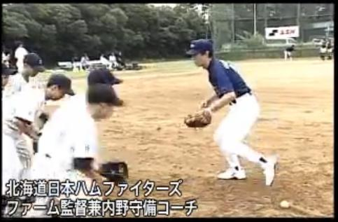 屋鋪要 水上善雄氏の野球守備指導法DVD