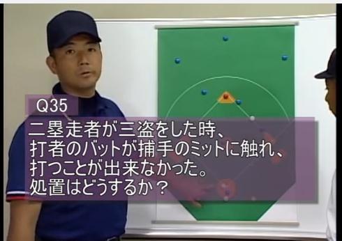 野球審判判定・ジャッジング問題集DVD