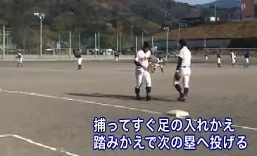野球 送球を素早くするための練習