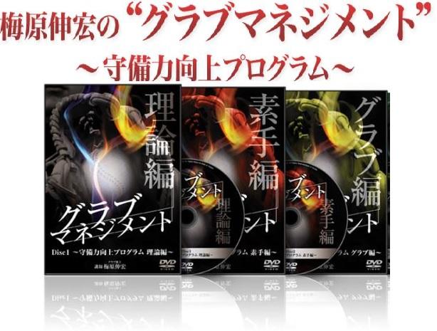 守備におけるグラブさばき上達法DVD